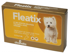 Fleatix© Spot On Solutions for Small Dogs