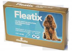 Fleatix© Spot On Solutions for Medium Dogs